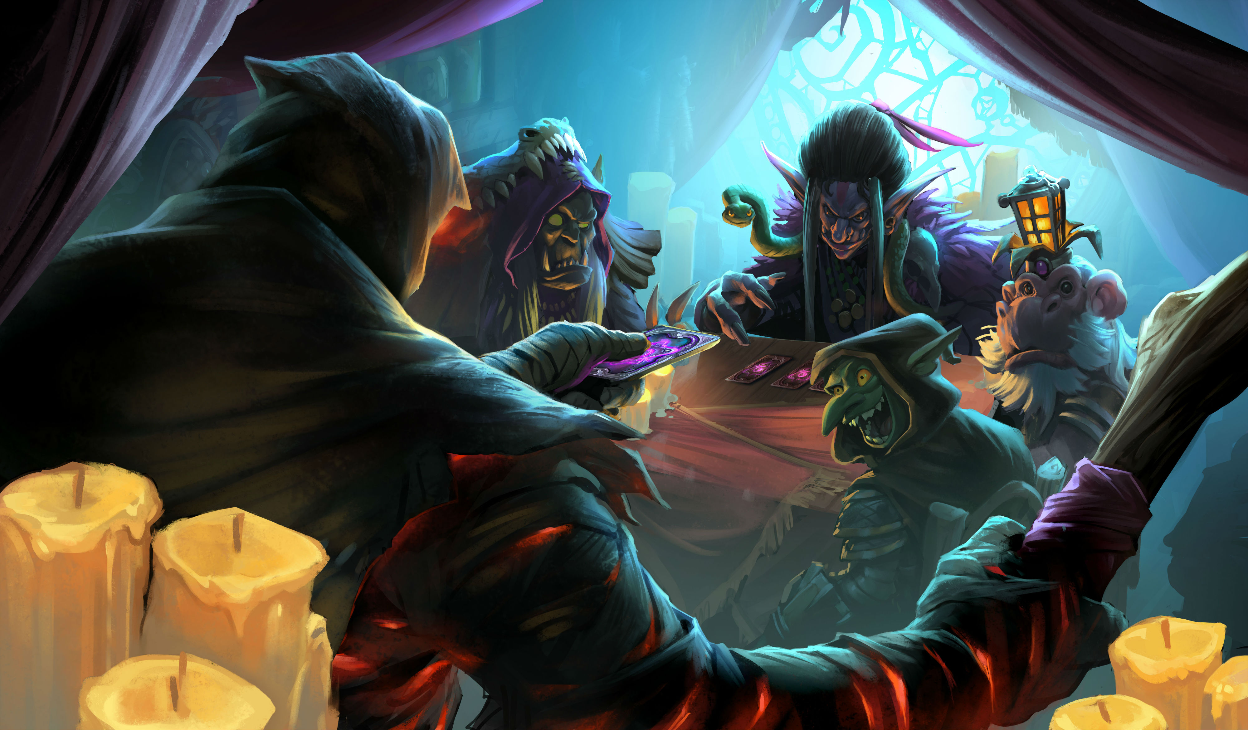 Get free Hearthstone card packs for watching the Masters Tour Las Vegas this weekend | PC Gamer