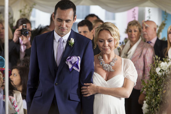 Will Janine go through with the wedding?