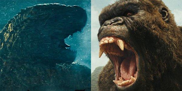 Godzilla versus kong battle