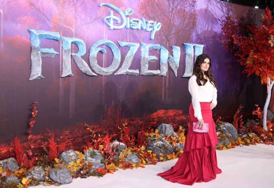 Idina Menzel attends the Frozen 2 European premiere at BFI Southbank on November 17, 2019 in London