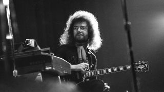 Robert Fripp onstage in Santa Monica in 1972