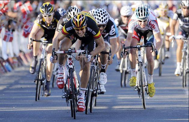 Tom Boonen wins stage 3, Tour of Qatar 2010