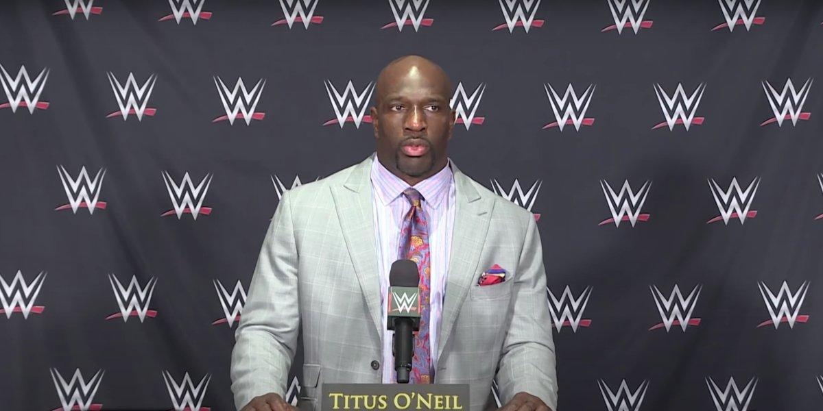 Titus O'Neil on Raw Fallout