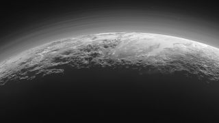 pluto majestic mountains