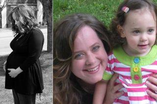 Clori Rose and daughter