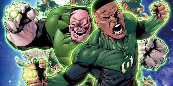 John Stewart and the Green Lantern Corps