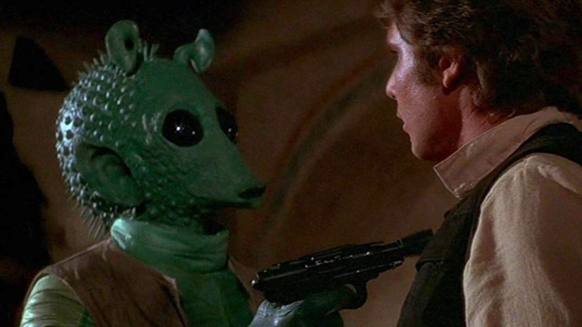 The Disney Plus Maclunky mystery is solved: George Lucas added the Greedo line