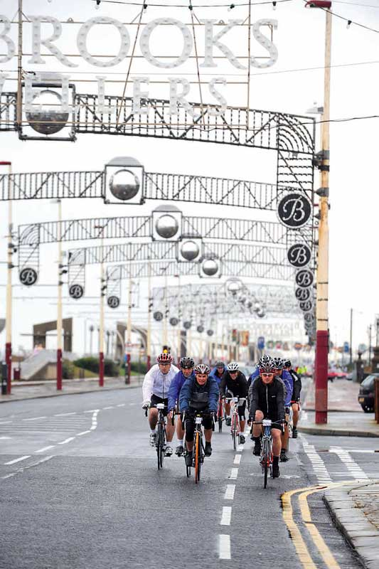 rapha cyclo sportive, blackpool, cyclo sportive, cycling, cycling event, british cycling