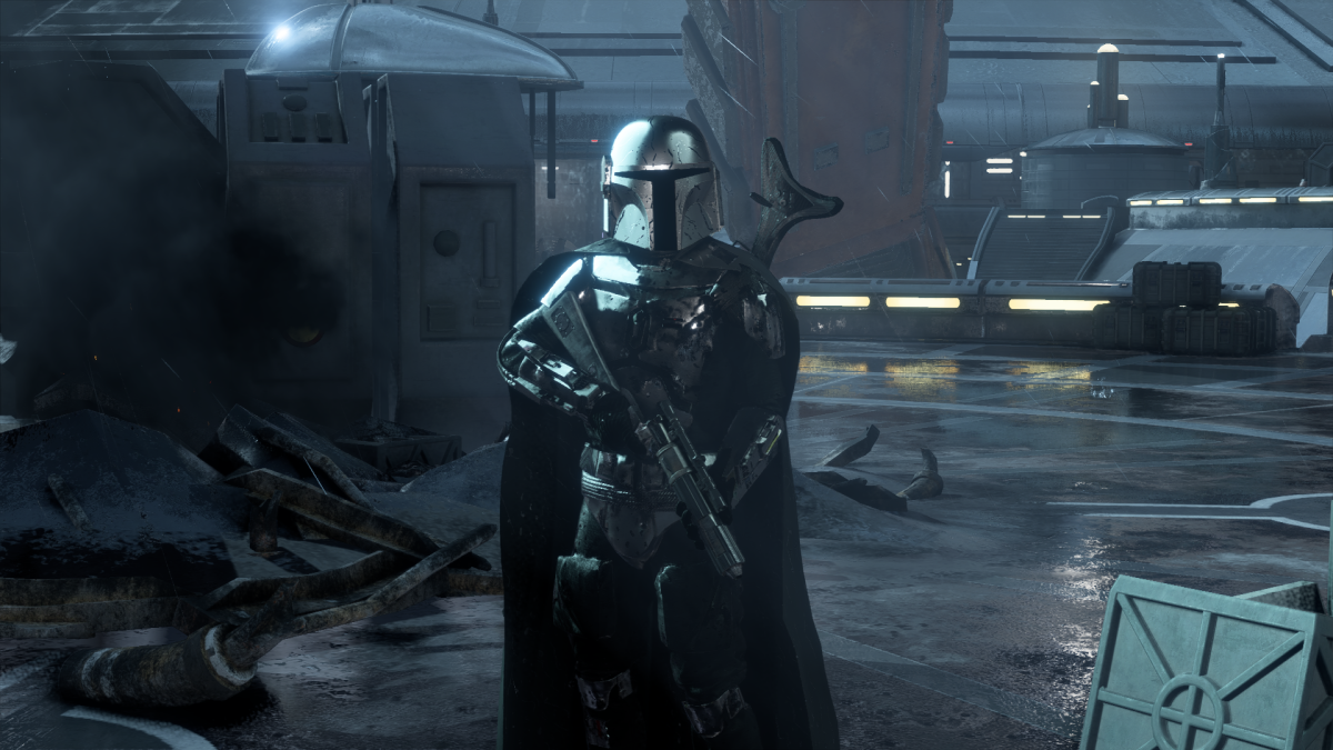 Play as the Mandalorian in this Star Wars Battlefront 2 mod