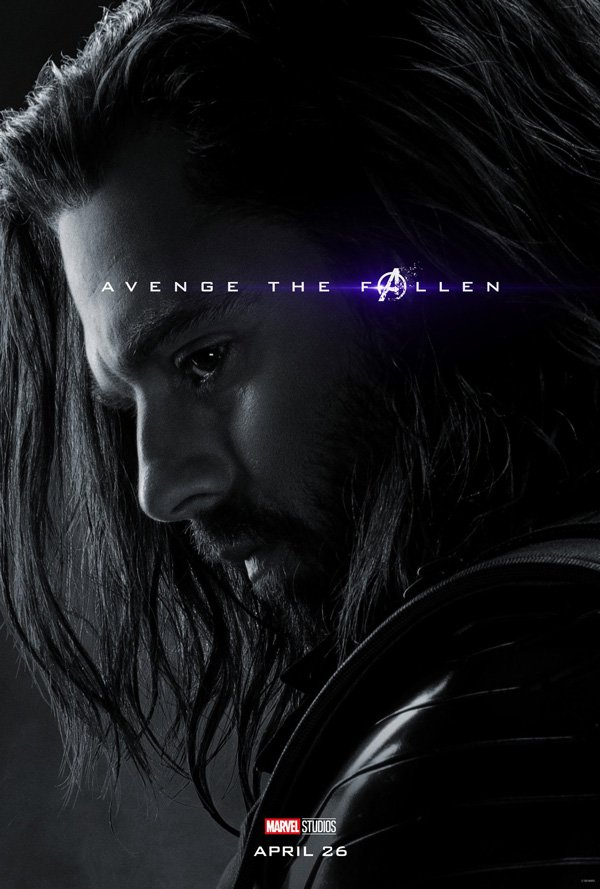 The Winter Soldier dead in Avengers: Endgame poster thanks to Thanos
