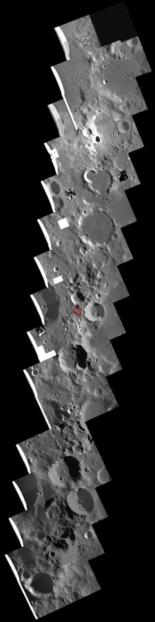 Japan's Kaguya Probe Slams into the Moon