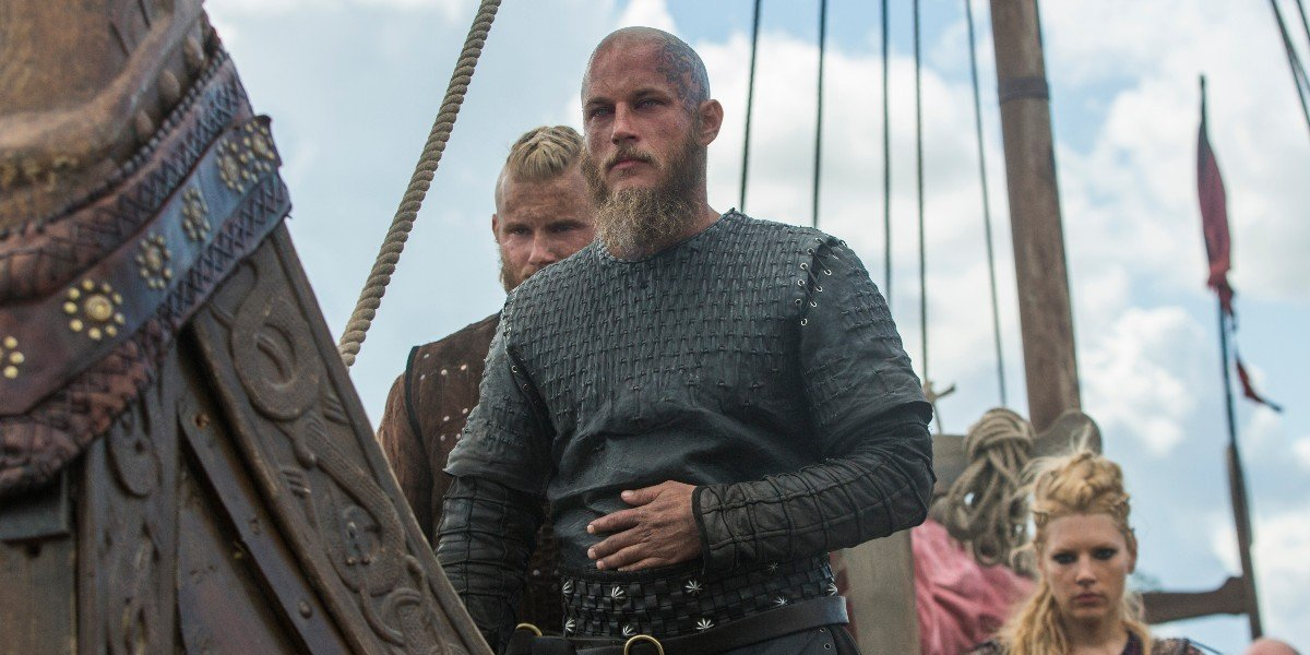 Vikings Bjorn Ironside Alexander Ludwig Ragnar Lothbrok Travis Fimmel Lagertha Katheryn Winnick History