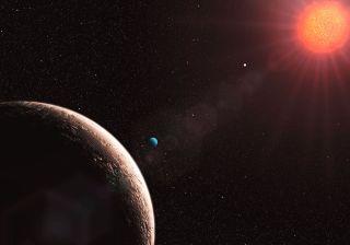 Exoplanet Gliese 581 e