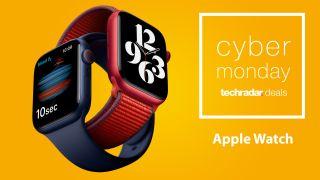 Apple Watch Cyber Monday deals header