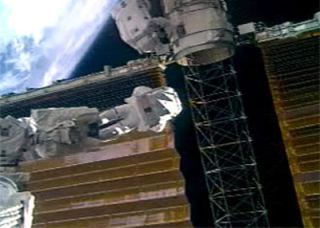 Astronauts Successfully Furl ISS Solar Wing in Extra Spacewalk