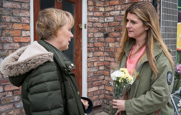 Coronation Street spoilers: Sally Metcalfe begs Gina to stay in Weatherfield