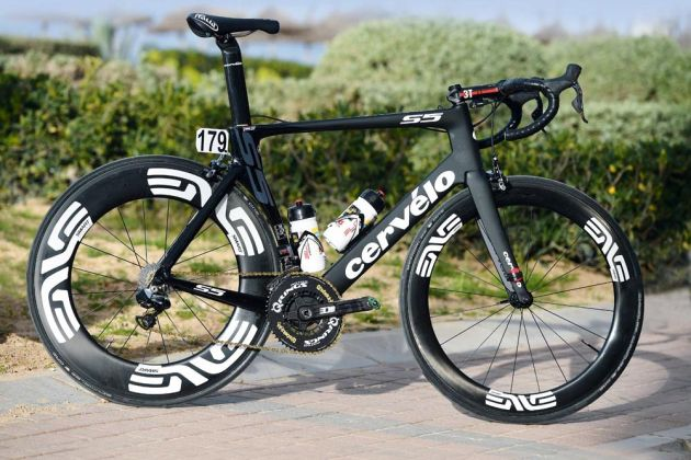 Theo Bos's Cervelo S5