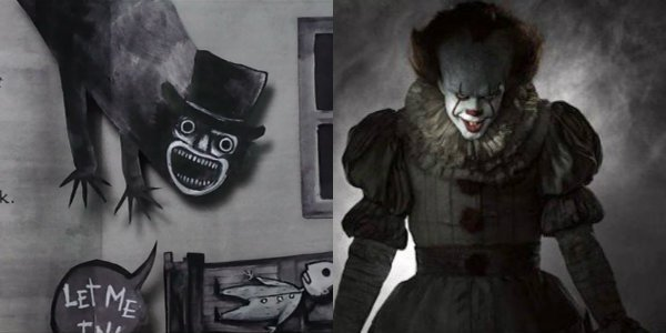 Pennywise the clown IT Mr. babadook