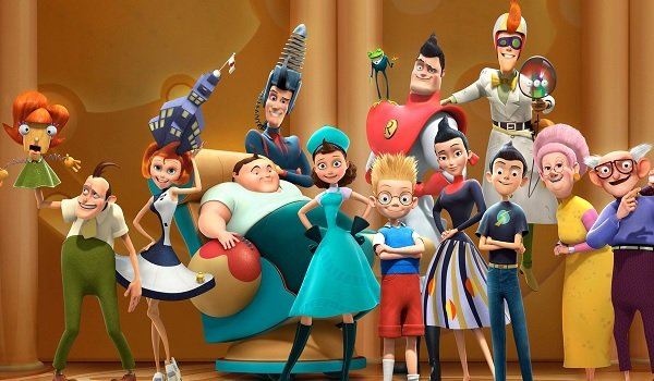 Meet The Robinsons silly family photo