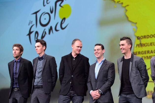 Chris Froome at the 2017 Tour de France Presentation