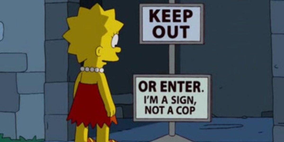 The Simpsons aspect ratio gag issue on Disney+
