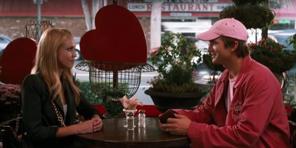 Ashton Kutcher, right, with Jessica Alba in Valentine's Day