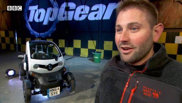 Screen grab taken from topgear.com of Top Gear producer Oisin Tymon