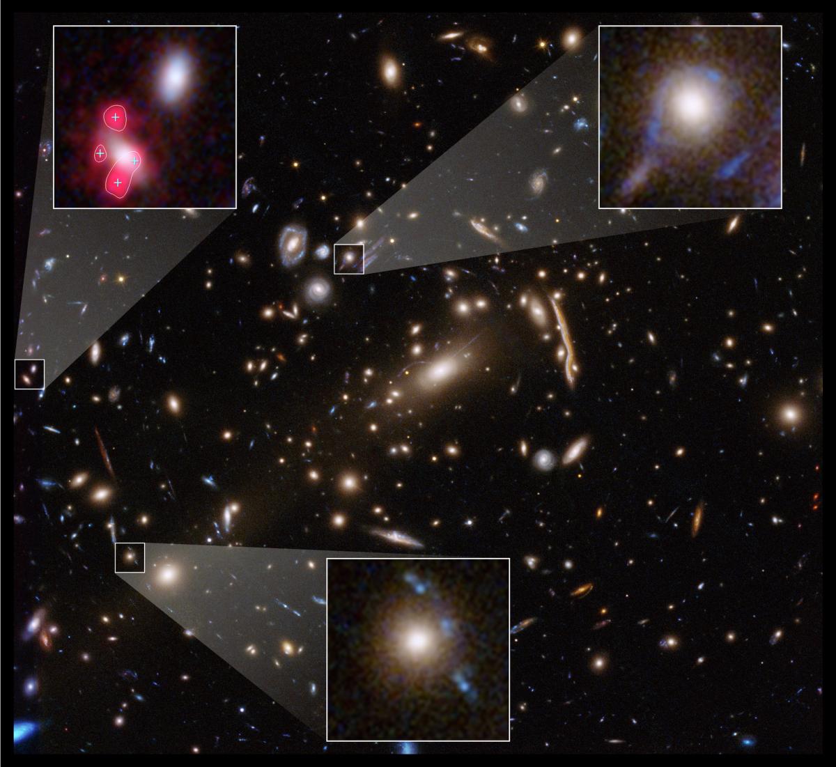 Hubble telescope observations highlight dark matter's weirdness – Space.com
