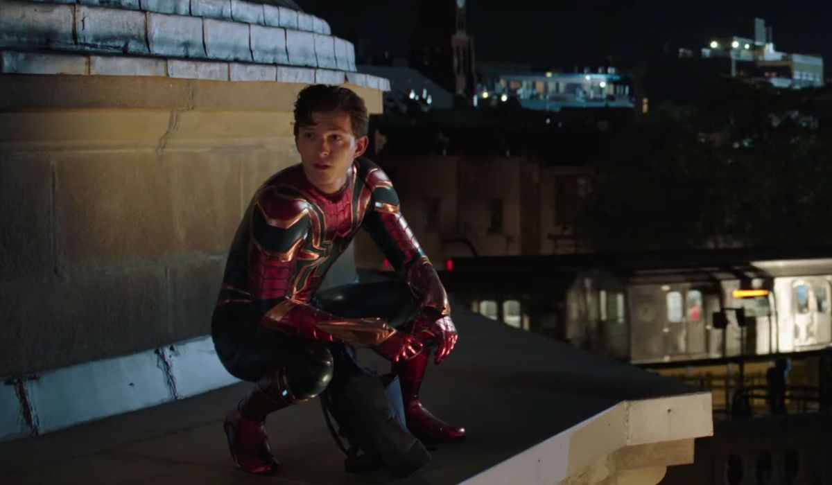 Peter Parker in Iron Spider suit