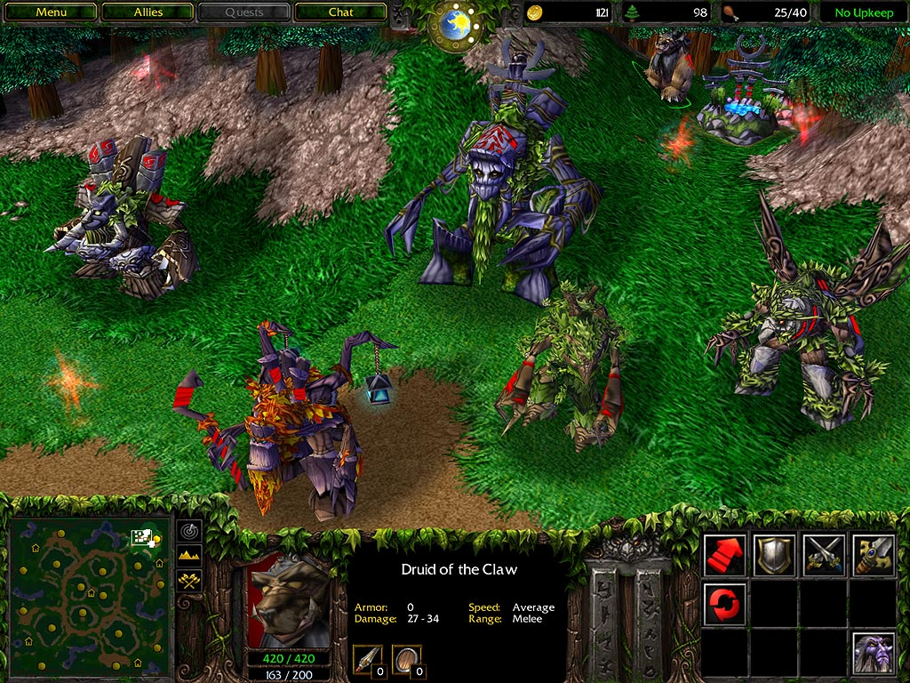 Here's what's new in Warcraft 3's latest update