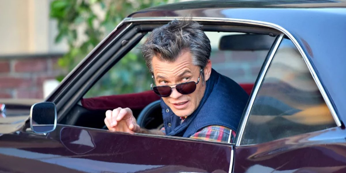 Timothy Olyphant on The Grinder