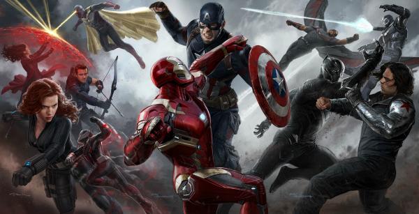 Marvel battle in Civil War