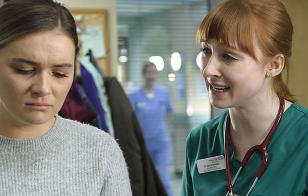 Casualty spoilers: Bea begs fragile Alicia Munroe to confide in her