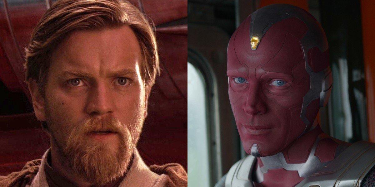 Obi-Wan Kenobi and Vision