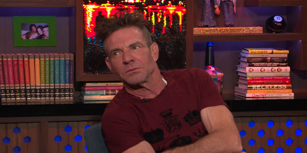 Dennis Quaid Watch What Happens Live! With Andy Cohen