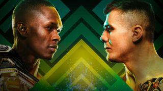 UFC 263 Adesanya vs. Vettori 2 Promo Banner