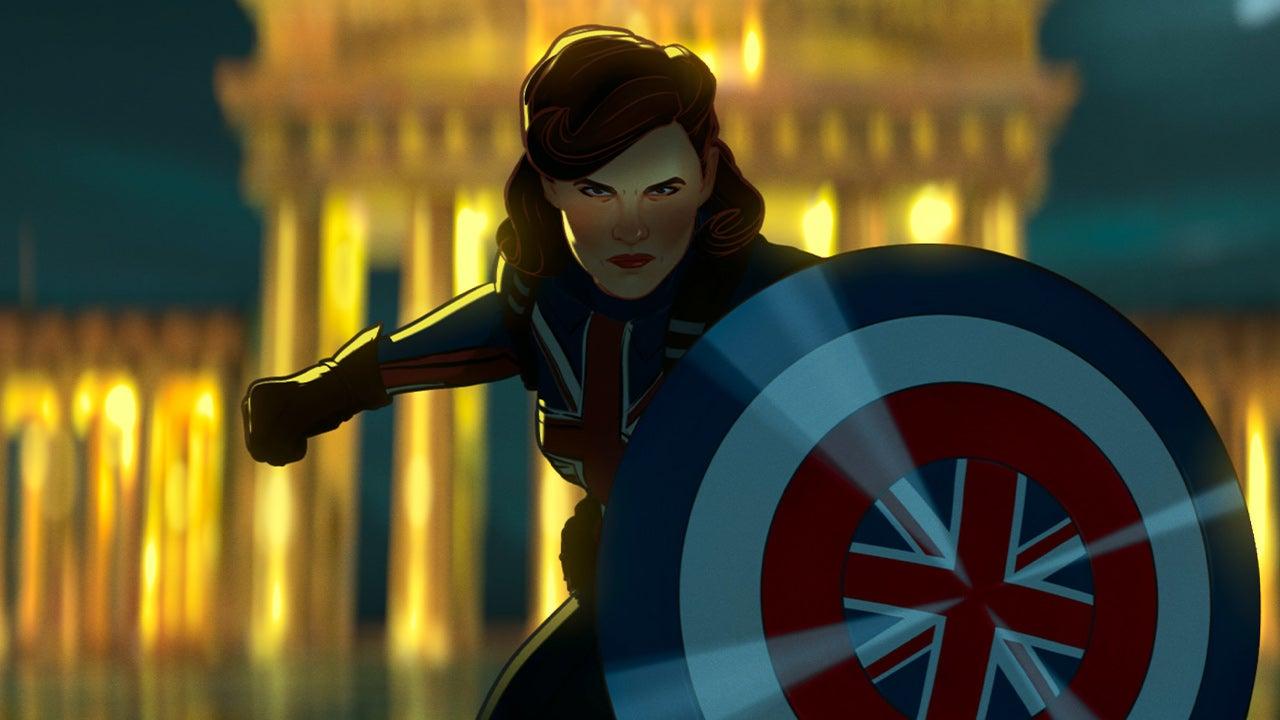 Capitán Carter en Marvels ¿Y si ...?
