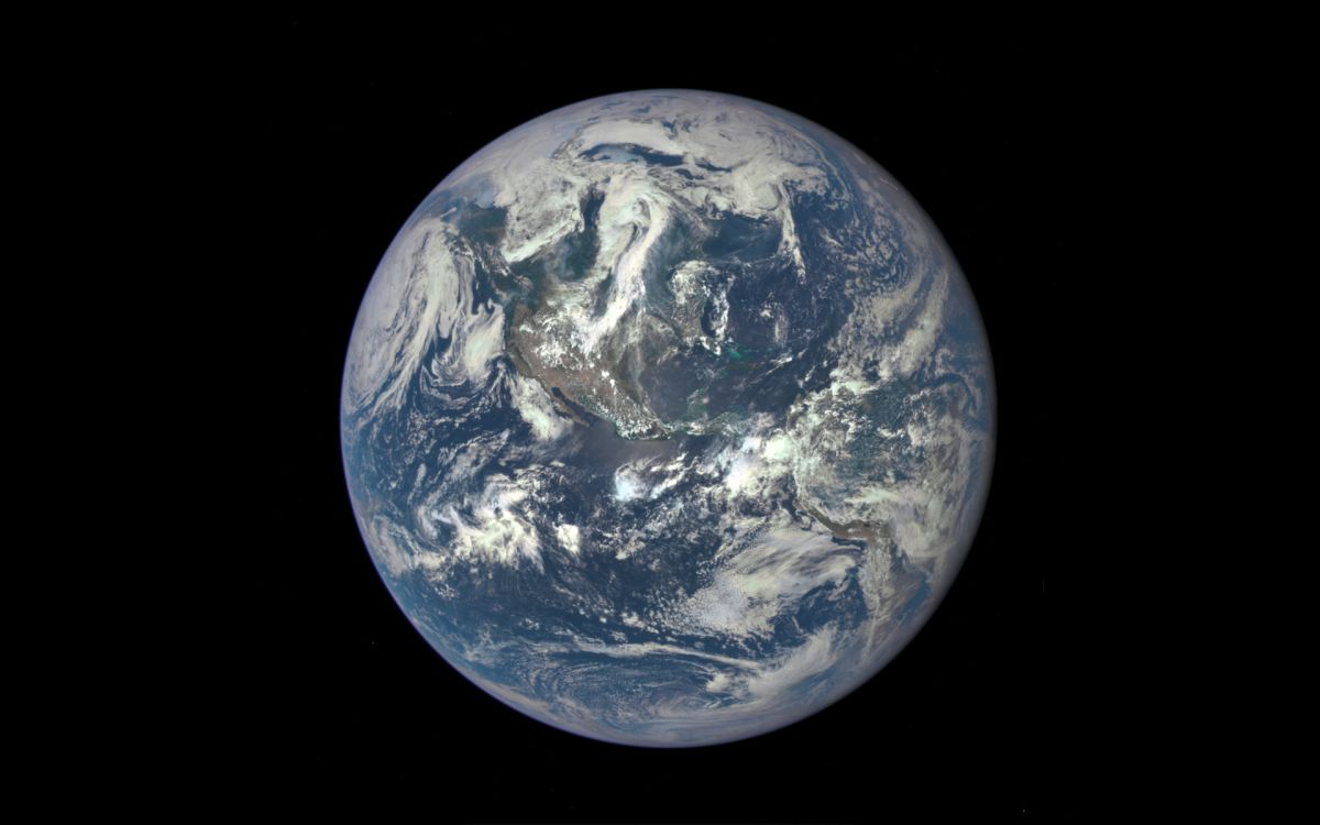 Epic Image Of Earth Space