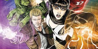 Constantine and Zatanna in Justice League Dark