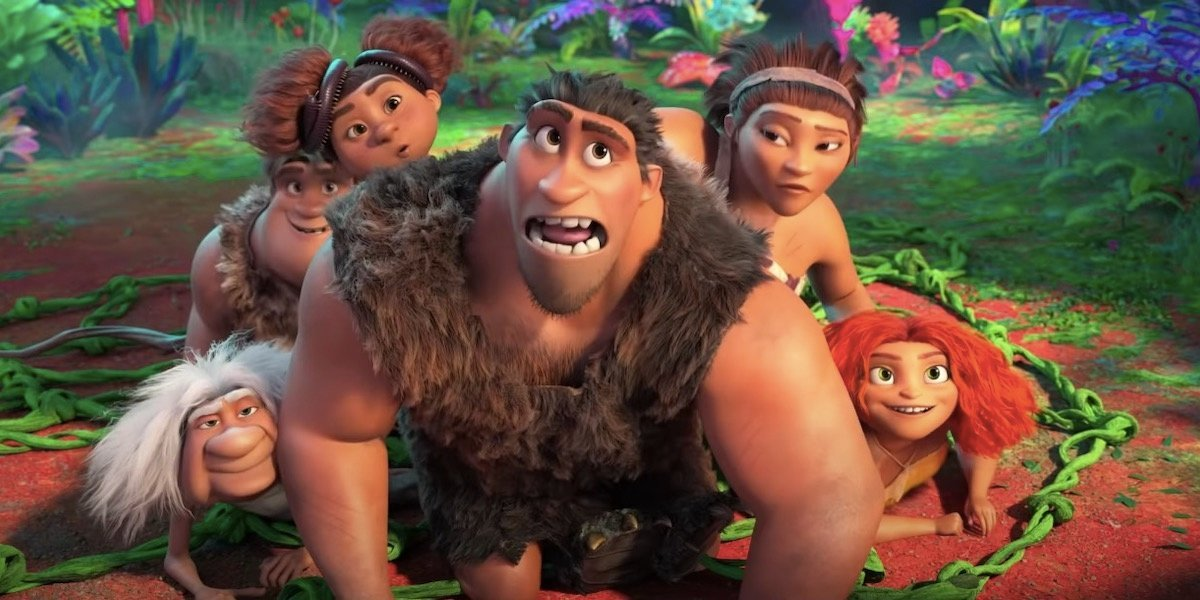 The Croods family in The Croods.