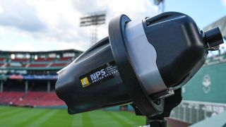 Red Sox using robot cameras! Nikon D5 RoboPods installed at Fenway Park
