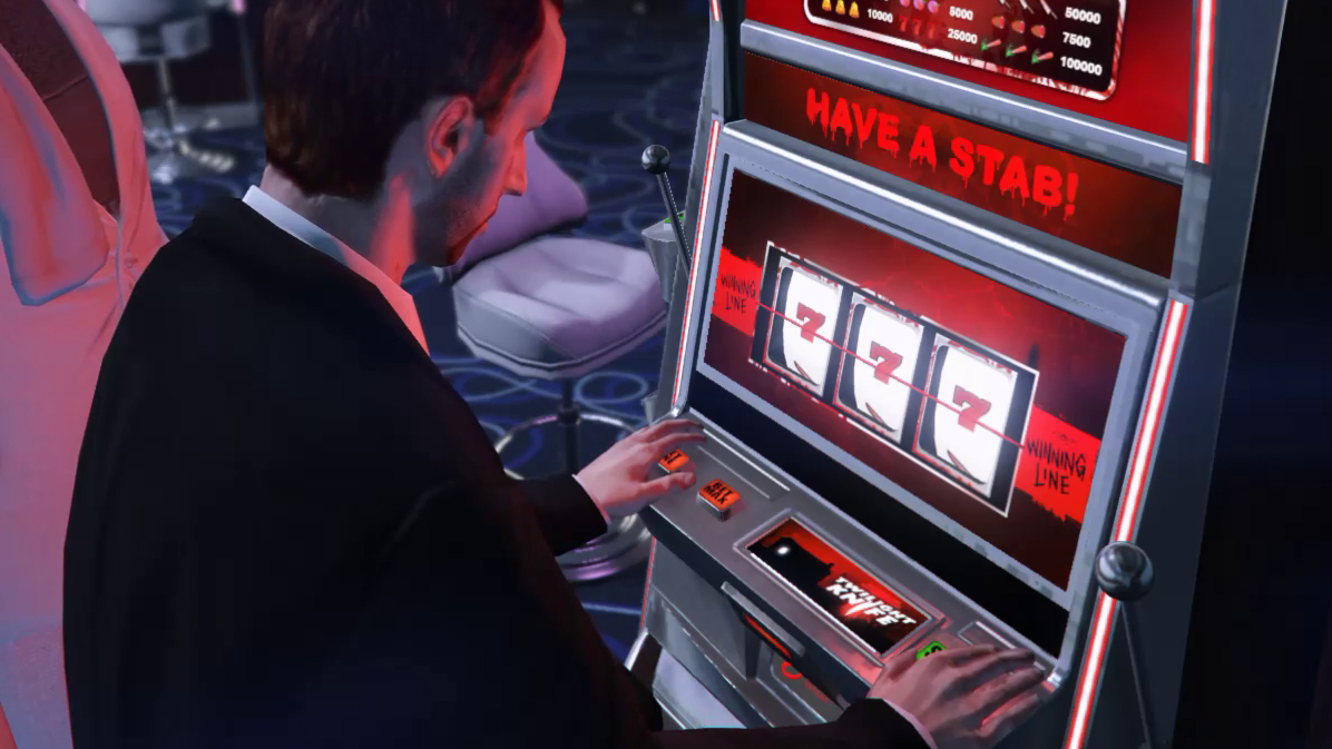 GTA Online's slot machines are rigged and the NPCs are winning all the damn  money | PC Gamer