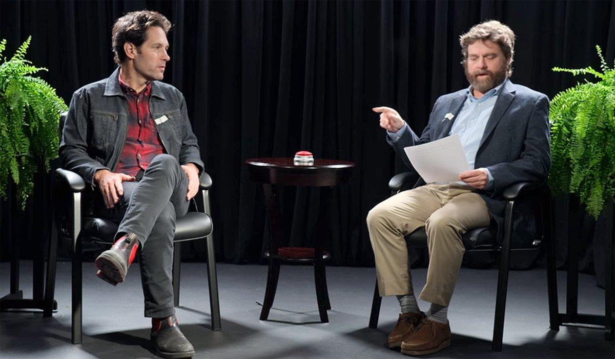 Between Two Ferns: The Movie Paul Rudd Zach Netflix