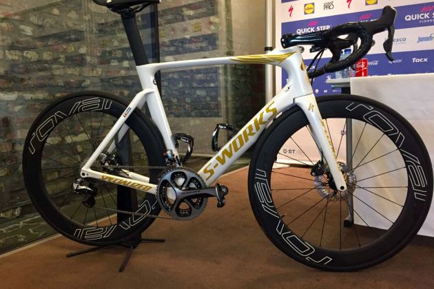 Thumbnail Credit (cyclingweekly.co.uk) Owen Rogers : Tom Boonen's custom Specialized Venge. Credit: Owen Rogers