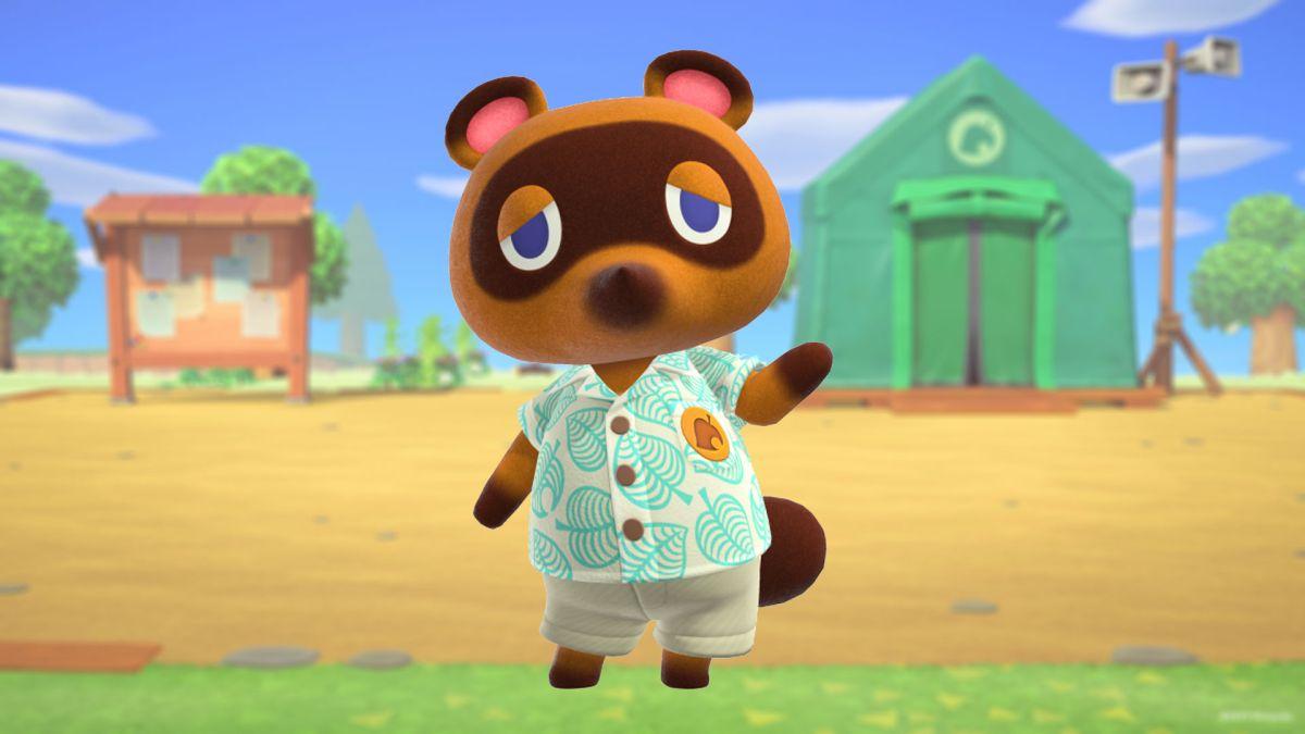 Tom Nook in Animal Crossing: New Horizons
