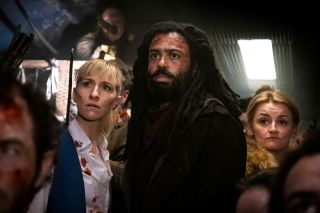Daveed Diggs and the cast of 'Snowpiercer'.