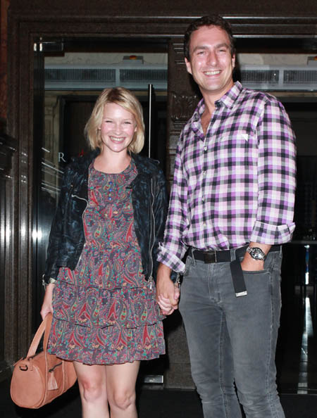 Joanne Page and James Thornton announce pregnancy