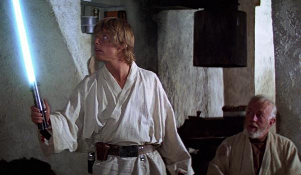 Star Wars: A New Hope Luke and Obi-Wan Lightsaber