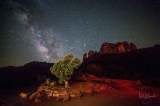 Milky Way from Arizona by Klymenko