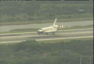 Landing Day: Space Shuttle Discovery Returns to Earth